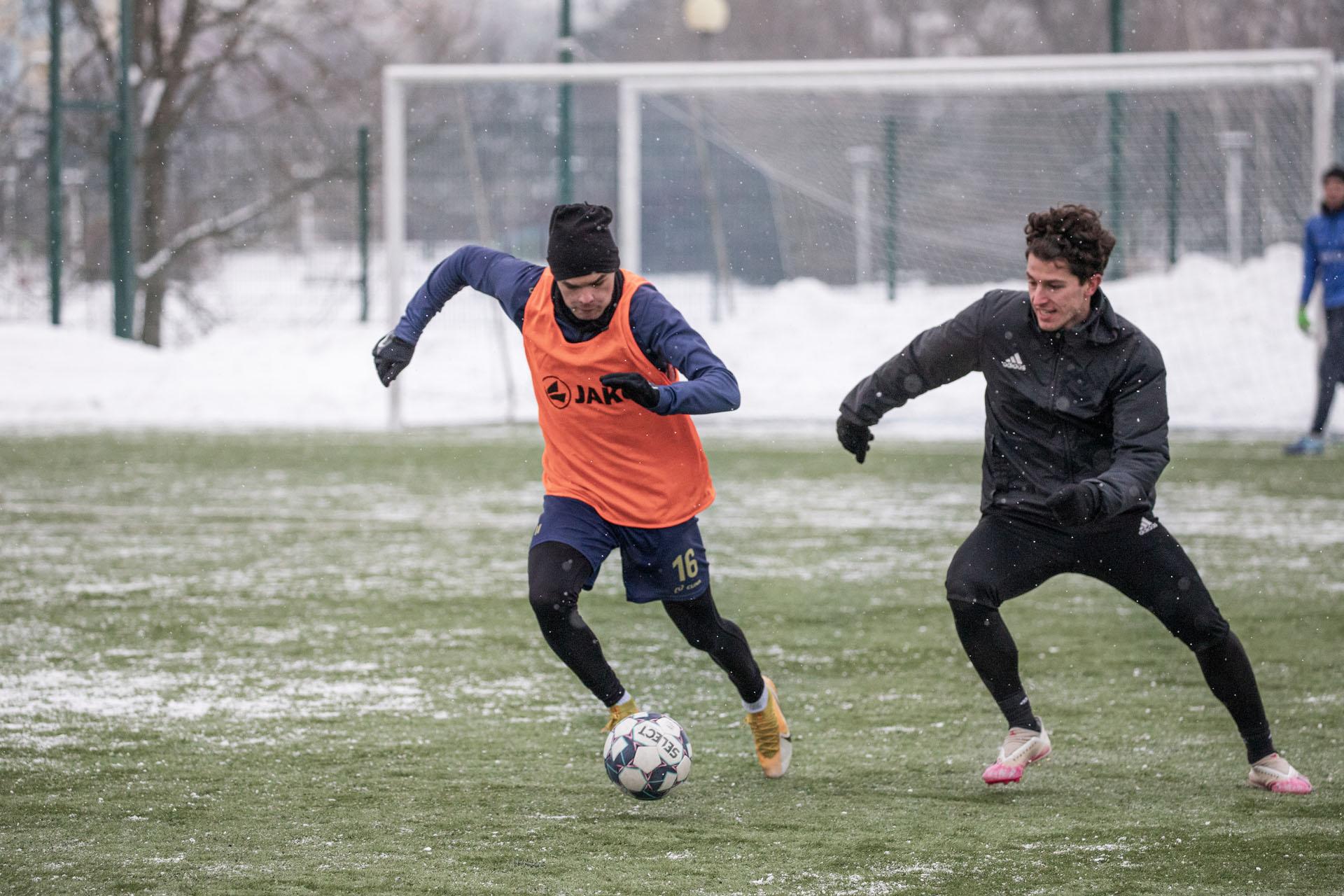 sparing Stal Rzeszów U19 - Lechia Sędziszów Młp. 2021-02-13, fot. K. Kupa