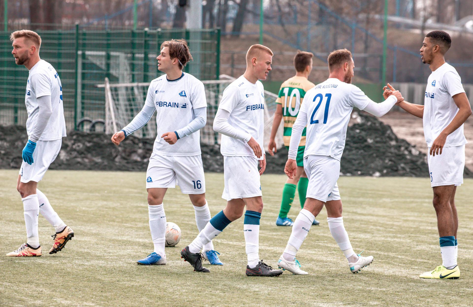 Stal II Rzeszów - Aramix Niebylec, 13-03-2021, fot K.Krupa