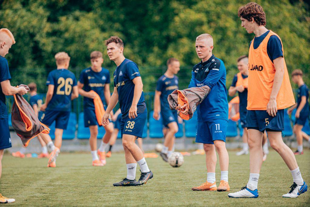 U18 - pierwszy trening 2021-07-19, fot. K.Krupa