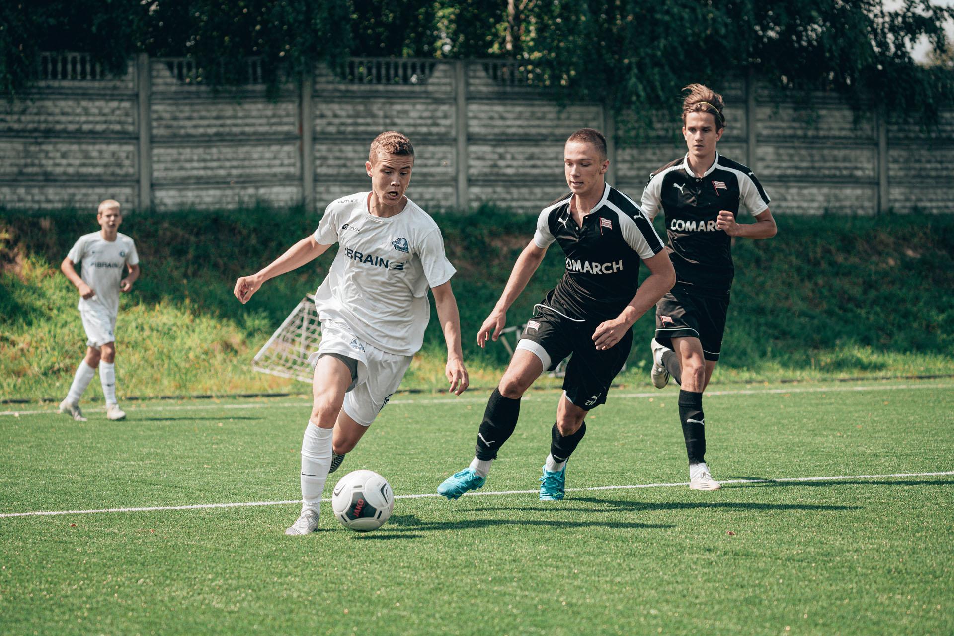 U17 - sparing - Stal Rzeszów - Cracovia Kraków 07-08-2021, fot. K. Krupa