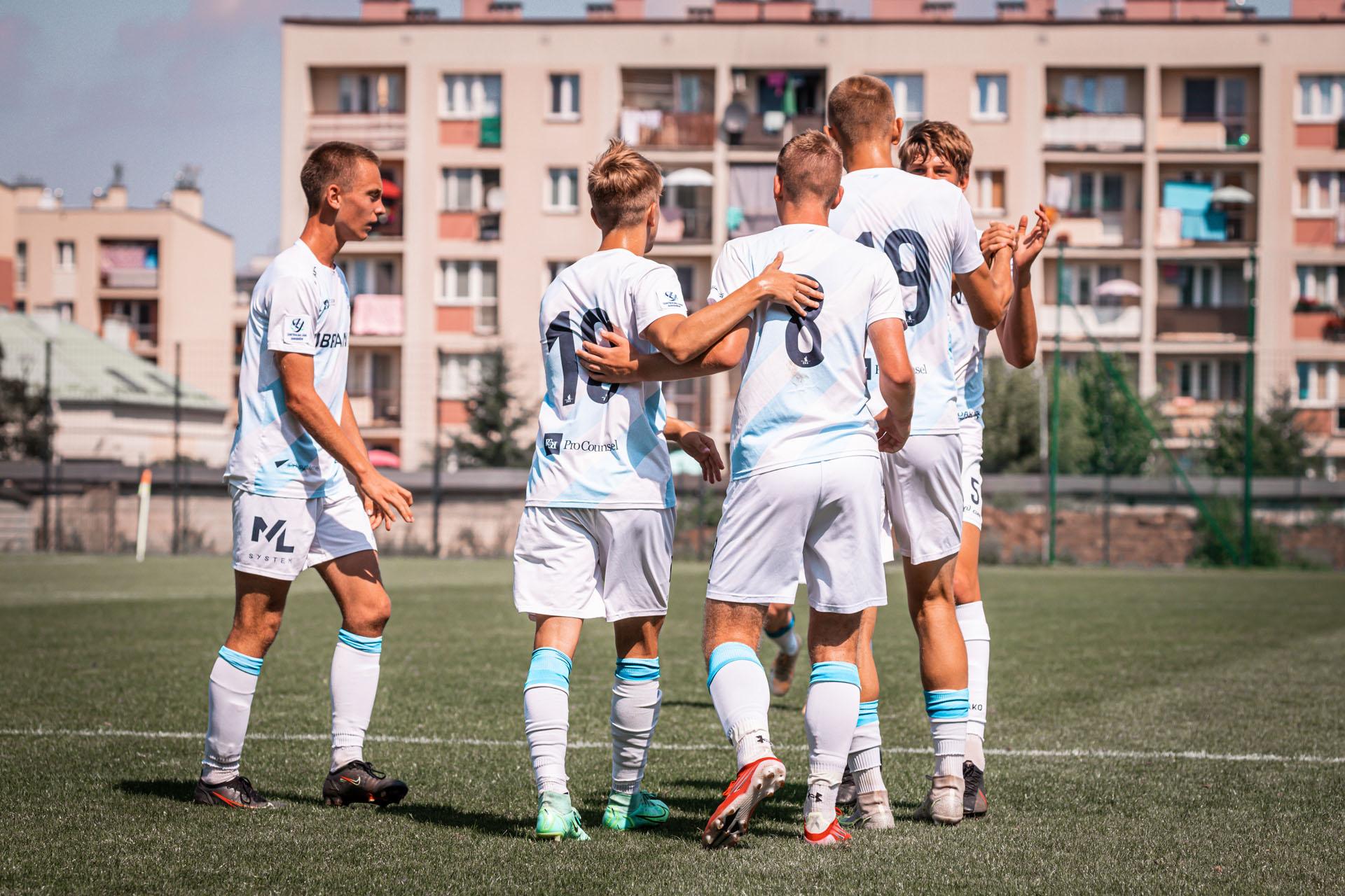 U18 - Stal Rzeszów - Jagielonia Białystok, 2021-08-15, fot. K.Krupa